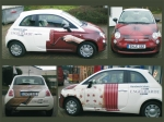 Fahrzeugbeschriftung im Digitaldruckverfahren